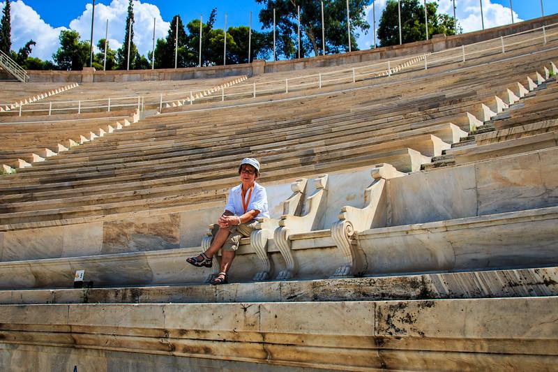 028 - Panathenaic Stadium - another view