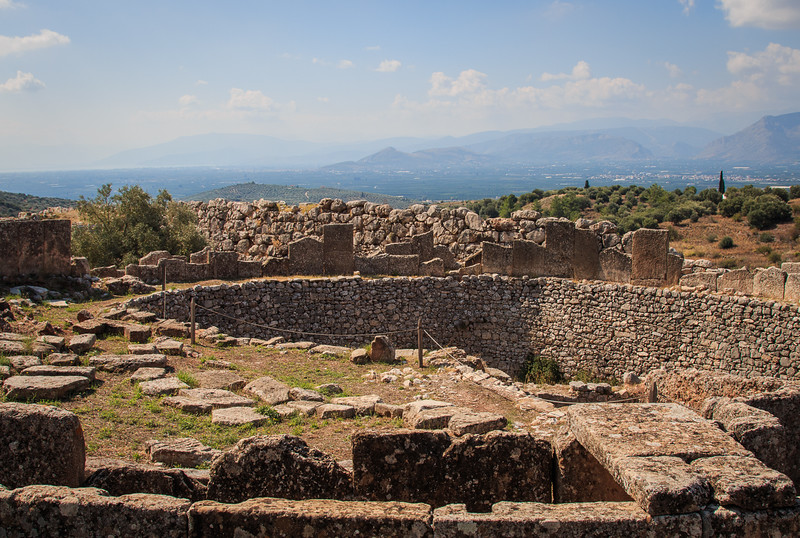 078 - Myceane area  - palace of Agamemnon during Trojan War