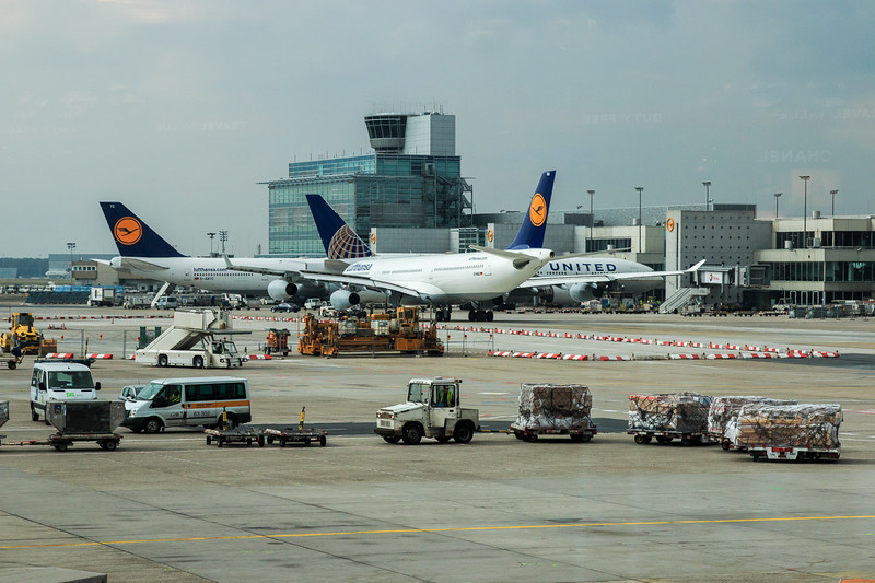 002 - Airport in Frankfurt