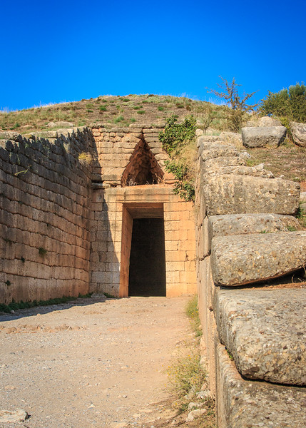 079 - Myceane - - Behive grave of Atreas (13th BC)