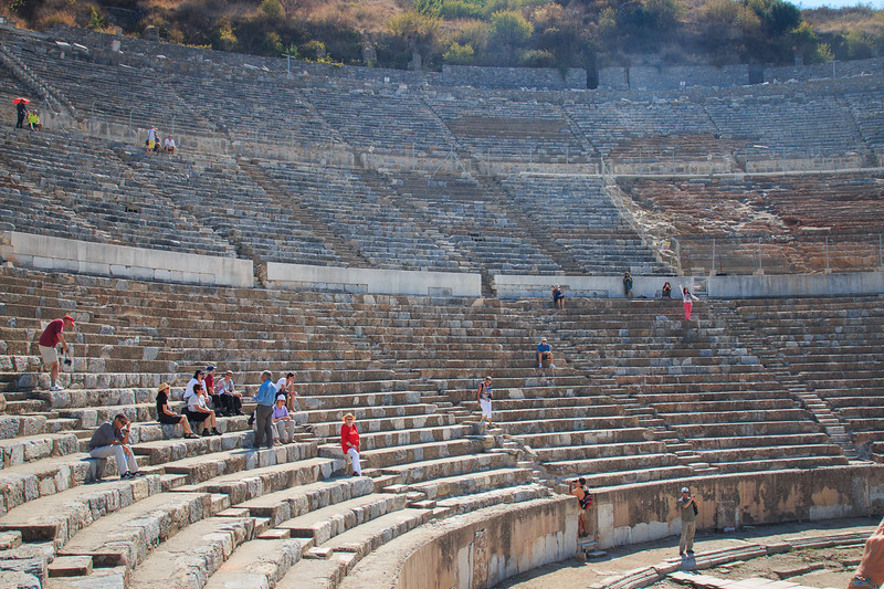 156 - Ephesus - Theatre - seats 25,000 spectators
