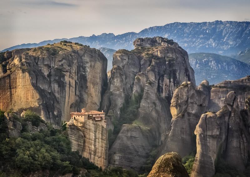 085 - Another of the Monasteries of  Meteora, Greece