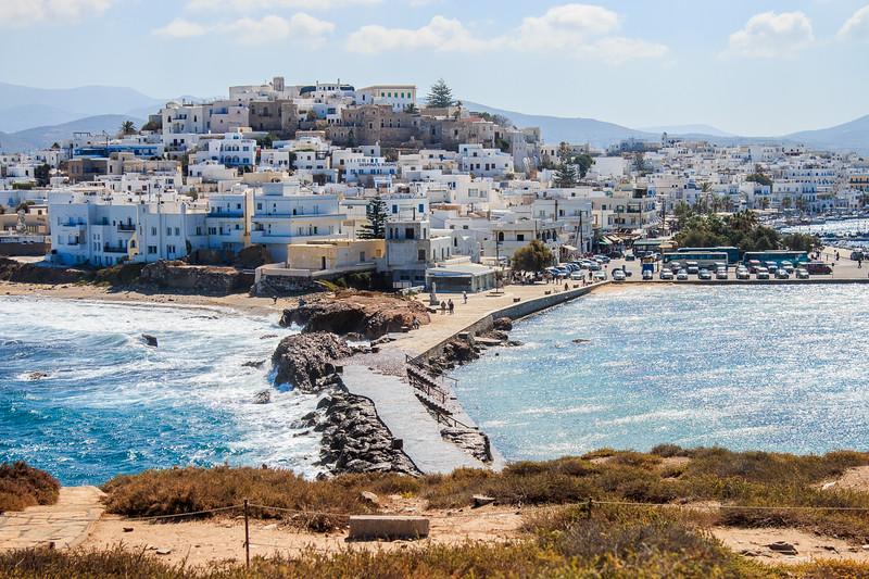 111 - Naxos Town - walk to Temple Entrance