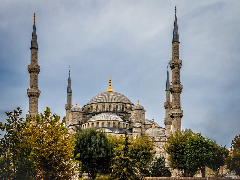 165 - The Blue Mosque - Istanbul