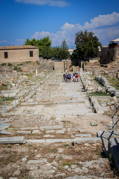 042 - Corinth  - Ancient Roman Road