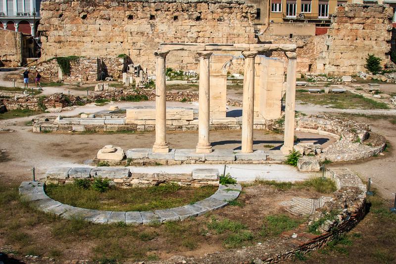 034 - Tetraconch Church at Hadrian's Library