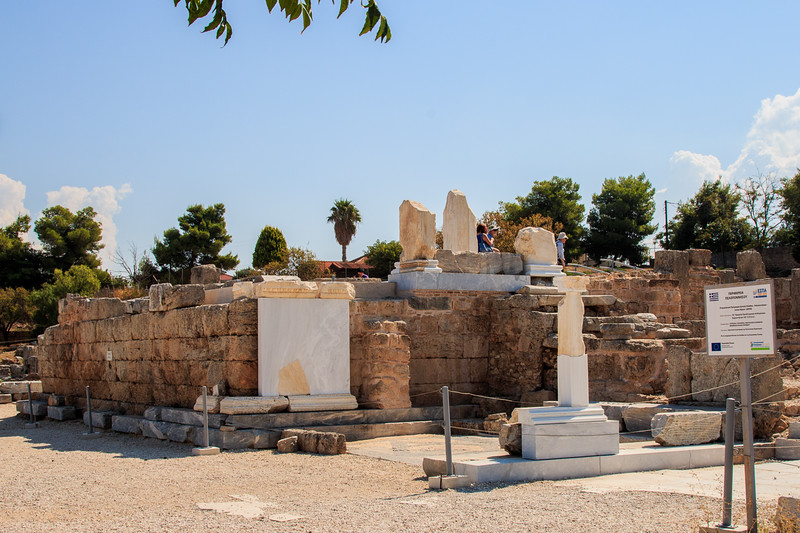 043 -Corinth - where St Paul was on trial