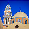 106 - Santorini - church steeple