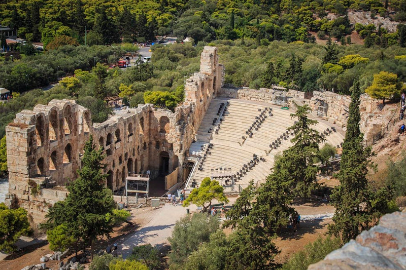 017 - Herod's Odeium -Athens