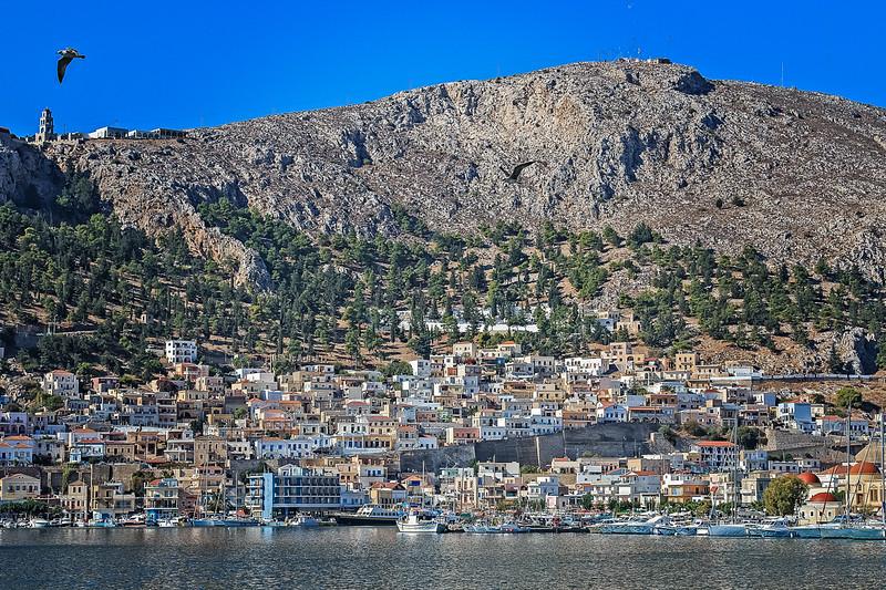 121 - Kalymnos View across Harbor