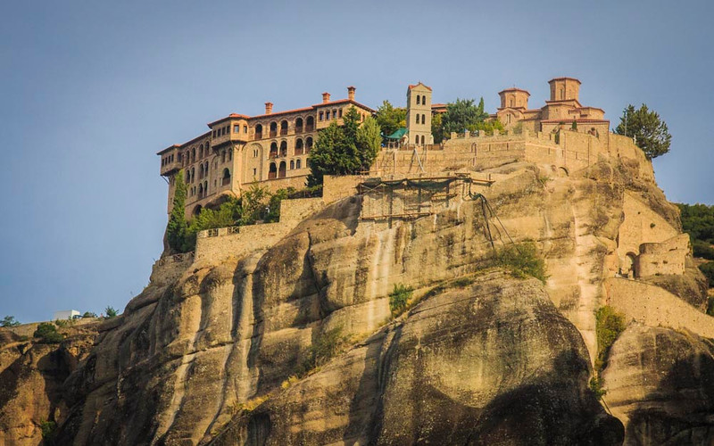 082 - One of Monasteries of Meteora