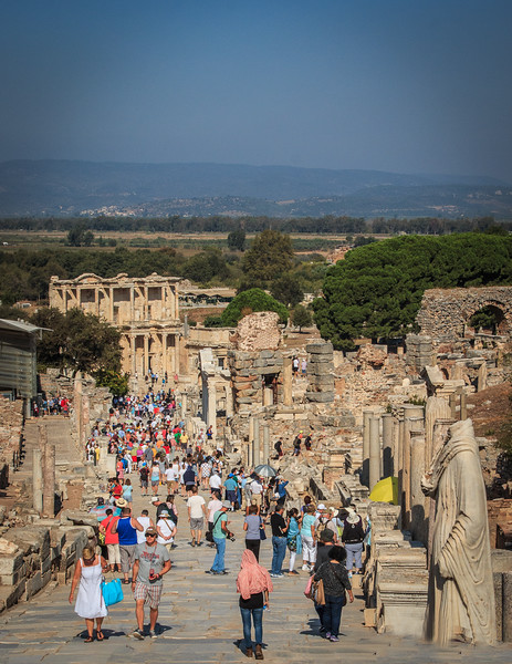 143 - Ephesus - Curetes Street - main city street