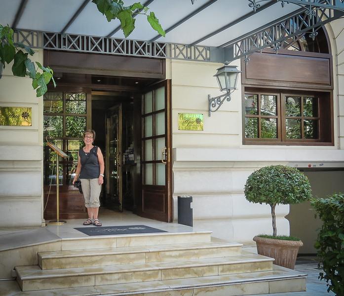 004 - Dorothy at Hera Hotel