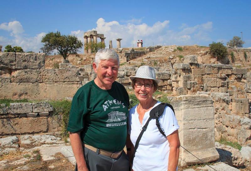 038 - Bob and Dorothy at Ancient Corinth