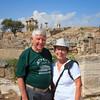 038 - Bob and Dorothy at Ancient Corinth