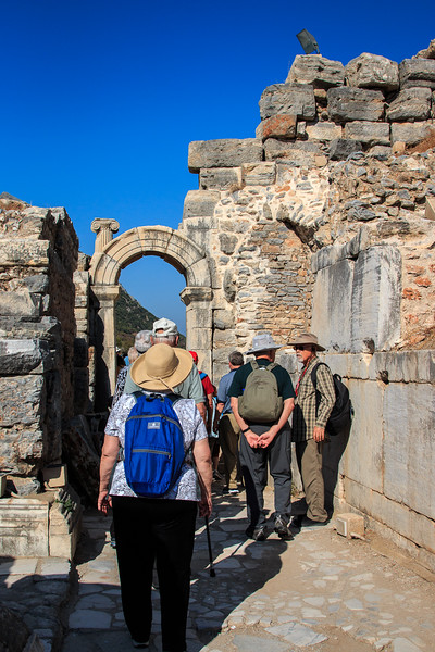 146 - Arched Doorway leading to stage of Odeion