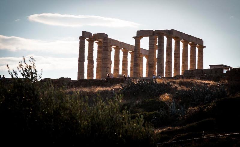 044 - Temple  of Poseidon at Sounion Cape