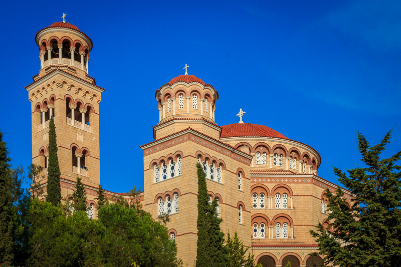 054 - Agios Nektarios Cath -   church & monastery -  Aigina