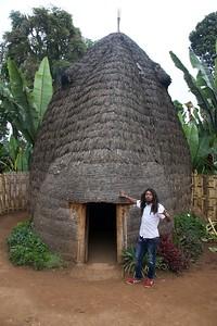 Makkonen describes the house - he's Orthodox Ethiopian Christian desire the dreadlocks