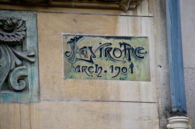 (Jules) Lavirotte, Architect, 1901