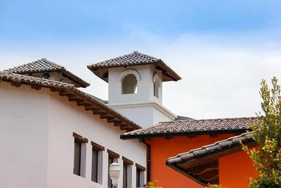 Building in Mitad del Mundo