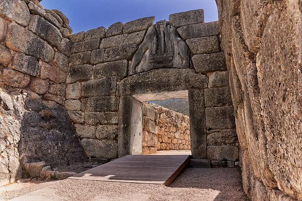 Lion's Gate, Mycanea, Greece