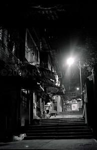 Hong Kong - Street Scenes - Black & White - ©2005 | Rawlandry