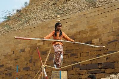Puspa, three year veteran @ 7 years old - at the Gates of Jailsamer
