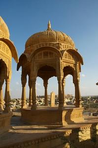 Cluster of Cenotaphs at Bada Bagh(Big Garden)
