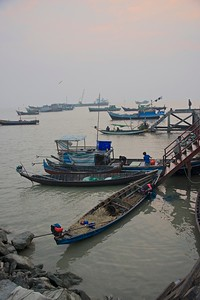 Fish from the Bay of Bengal @ confluence of Kaladan and Lomro rivers