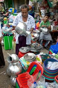 Shaping water pots