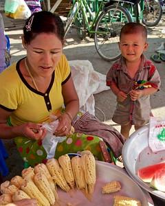 Fresh corn...........thank you Mexico