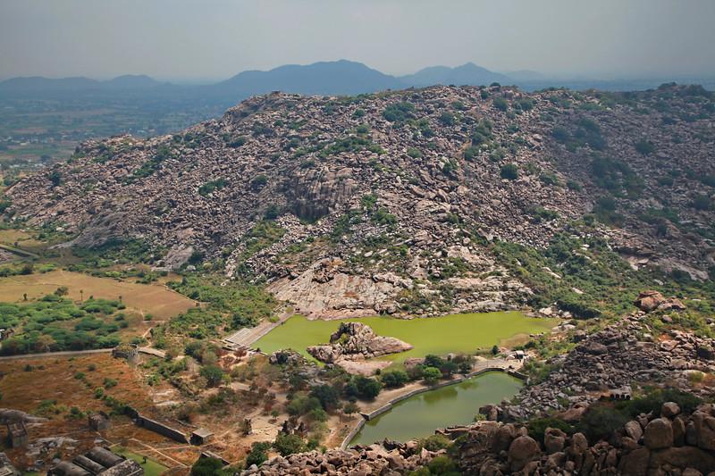 India. Gingee Fort / Индия. Форт Джинджи