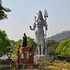 Shiva and Vivekananda Statues at Haridwar / Статуи Шивы и Вивекананды в Харидваре