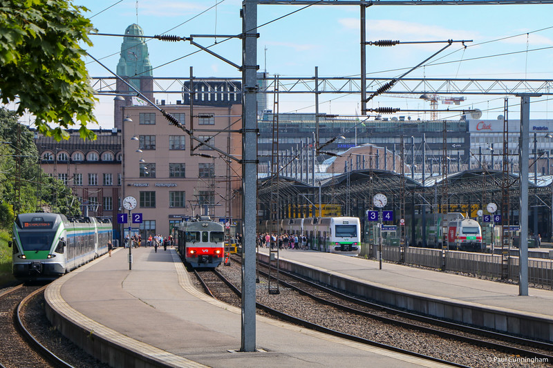 """A """"front-end"""" view of the railway station.  I only got this shot because I got lost!"""