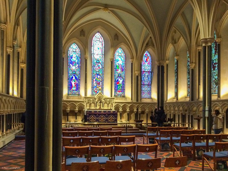 A side chapel in St Patrick's Cathedral