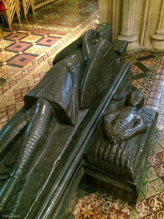 Strongbow's tomb, Christ Church.
