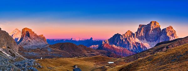 Monte Pelmo panorama