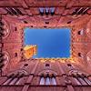 Siena's Palazzo Pubblico Courtyard