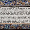 042 - Magnificat - the words of Mary to Elizabeth - 41 plaques