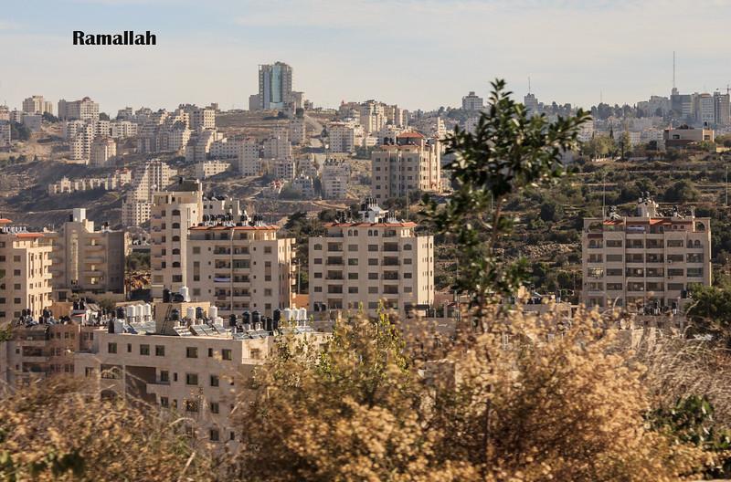 160 - Palestine -Ramallah the capital