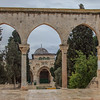 131 -  Arched entryways to Dome of the Rock