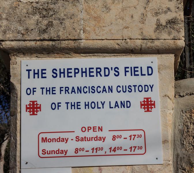 049 - Shepherds Field just outside Bethlehem