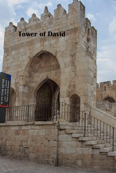 101 - Jerusalem  Tower of David