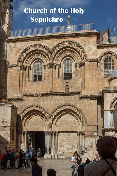 115 - Main entry way to Church of the Holy Sepulchre