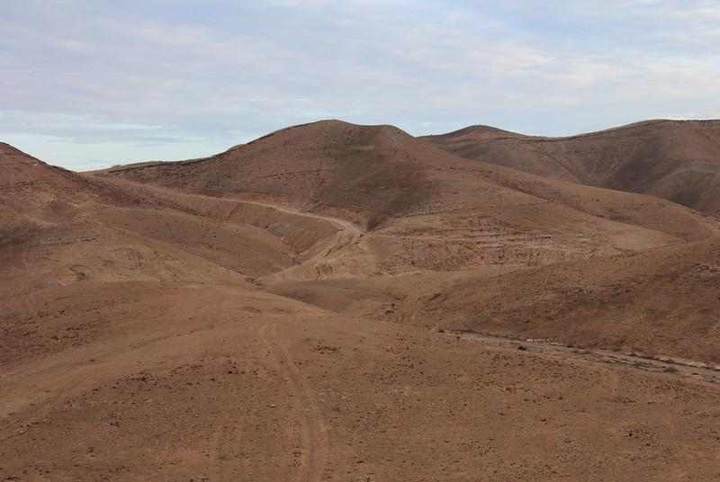 151 - Road between Jericho and Jerusalem - Area of parable of the Good Samaritan that Jesus referred to - basis of Good Samaritan laws