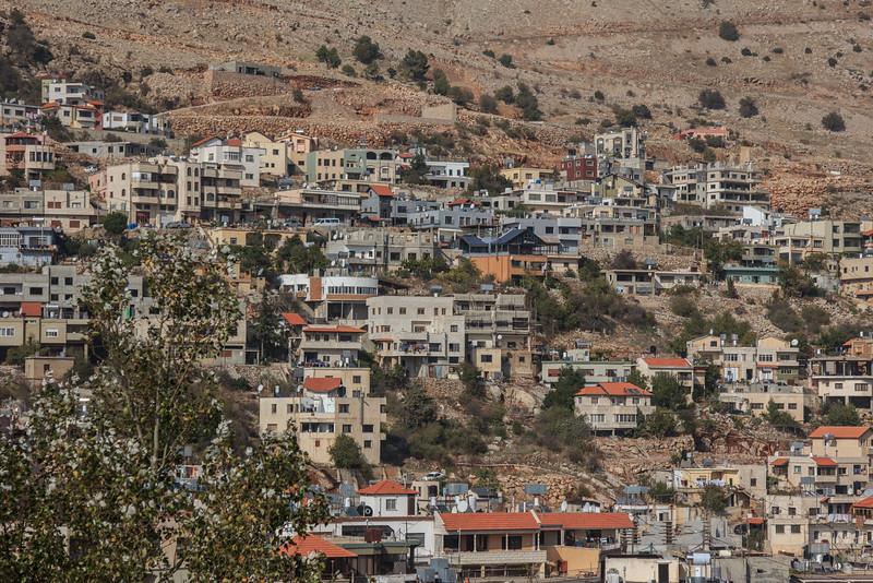 6 - Druz Village in the Golan Heights near the Syrian border