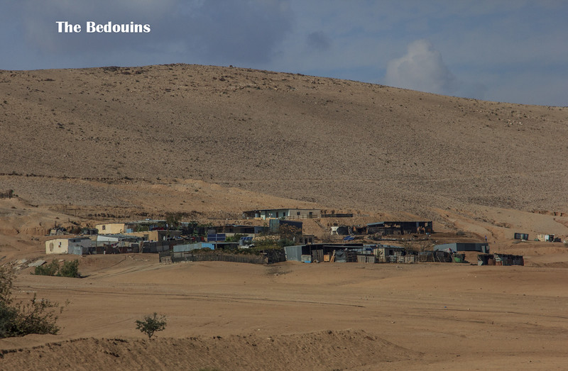152 - One of many  Bedouin camps