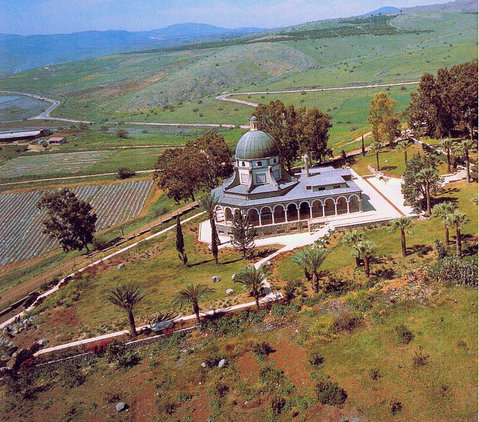 073 - Church near the top of the Mount of the Beatitudes