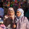 161 - Young Muslim women shopping in downtown area of Ramallah
